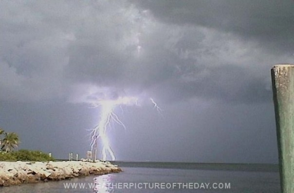Lightning in Key Largo