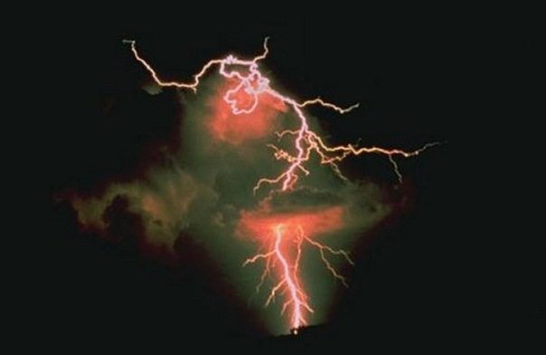 Lightning over Oklahoma