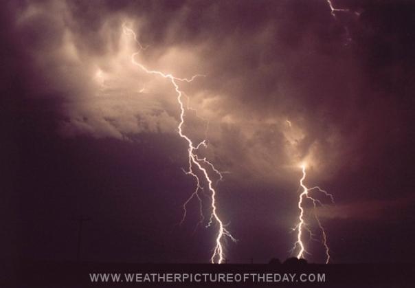 Double Lightning Bolts