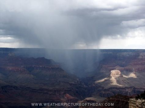 Grand Canyon Rain