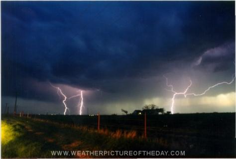 Scotland Lightning