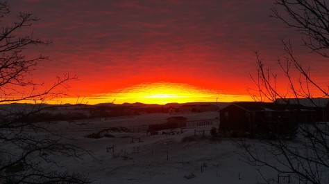 south dakota sunrise
