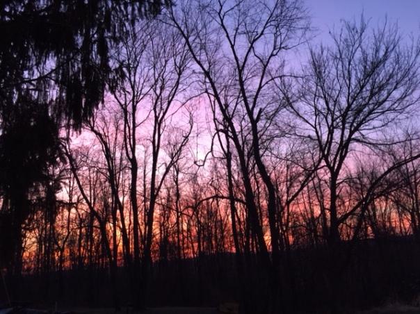 dec21 morning sky