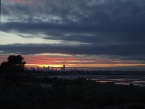melbourne sunrise