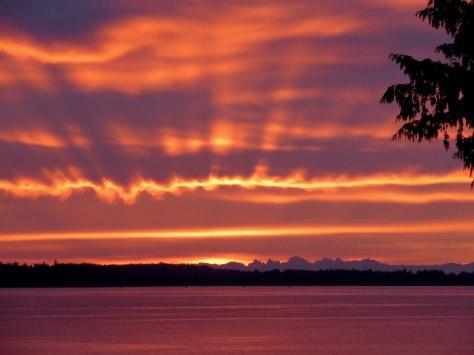 vancouver island sunrise