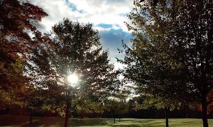 October morning Shrier Park Portage